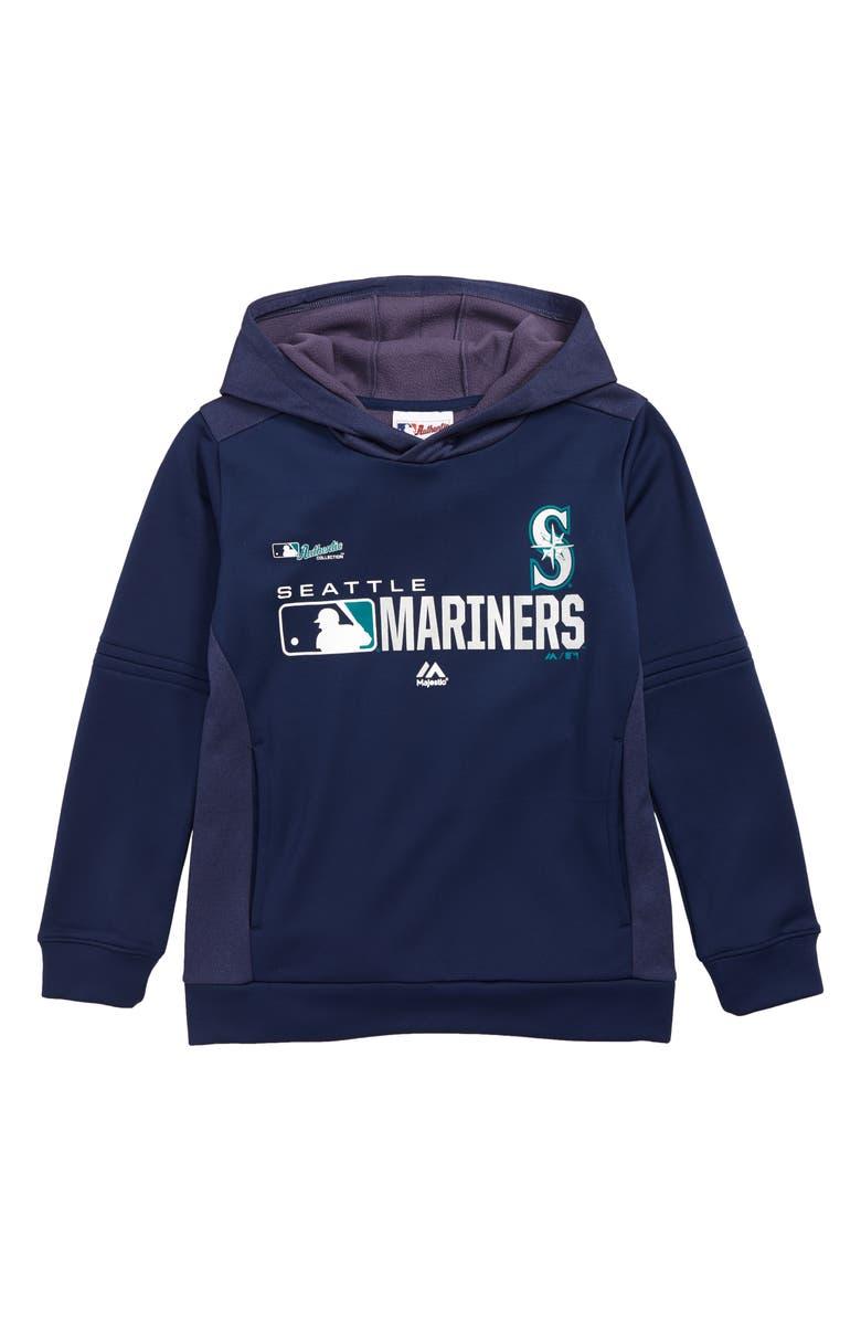 MAJESTIC MLB Winning Streak - Seattle Mariners Hoodie, Main, color, NAVY