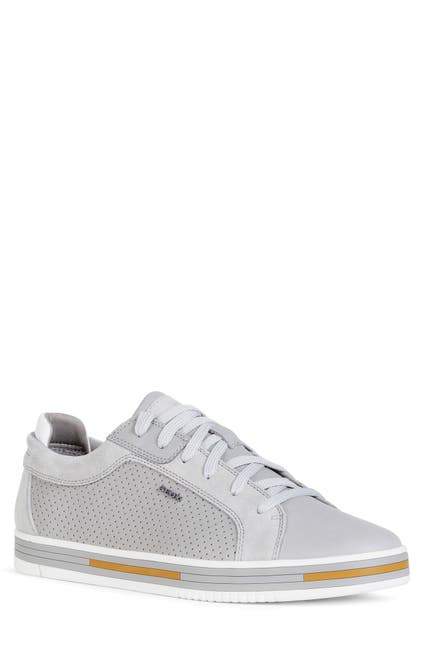 Image of GEOX Meolo Perfroated Lace-Up Sneaker