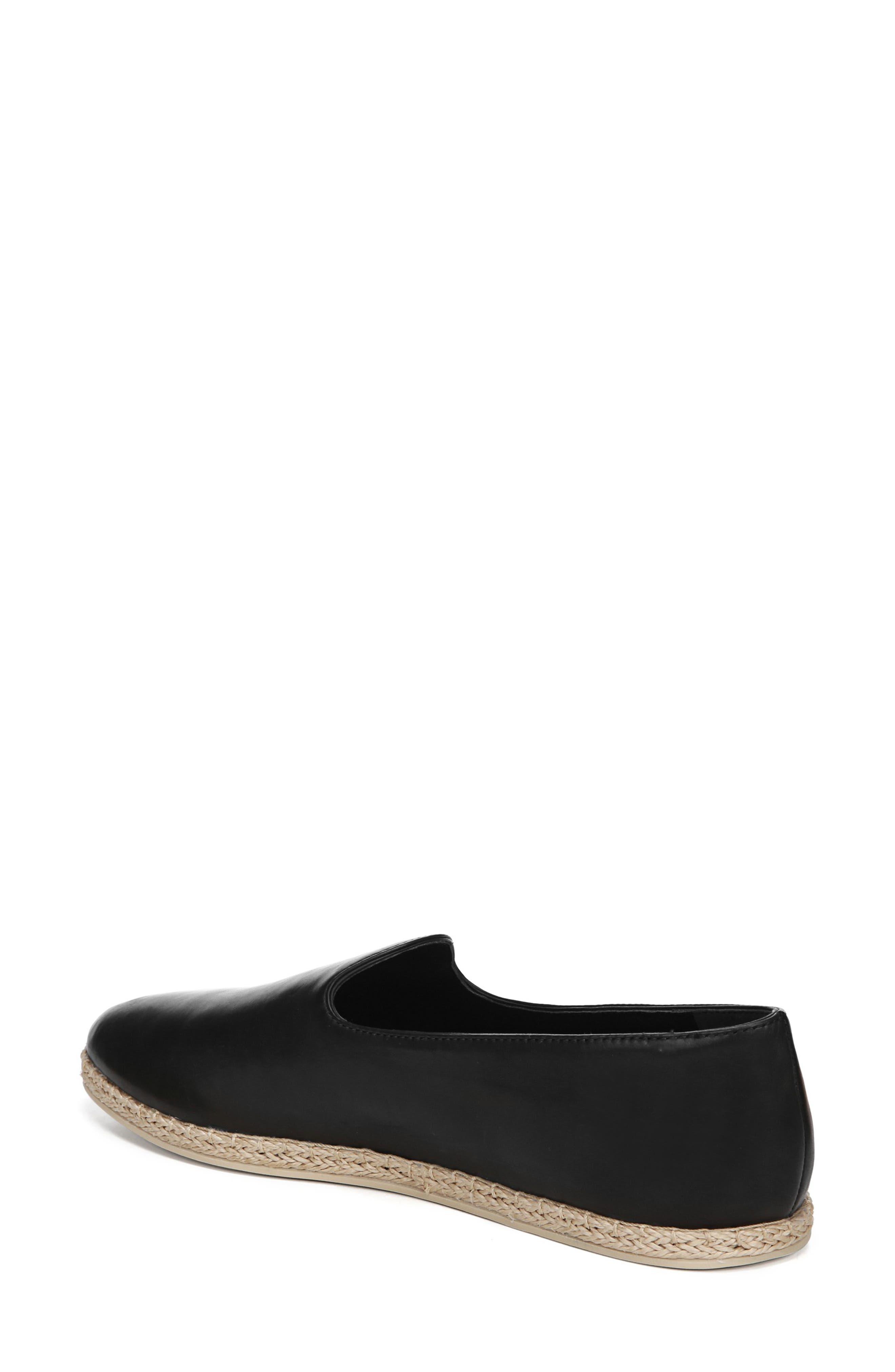 ,                             Malia Loafer Flat,                             Alternate thumbnail 2, color,                             BLACK LEATHER