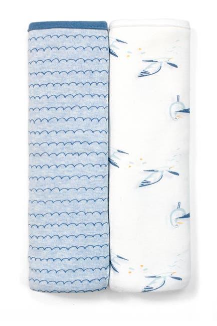 Image of RABBIT AND BEAR ORGANIC Multi Print Organic Swaddle Blanket - Pack of 2
