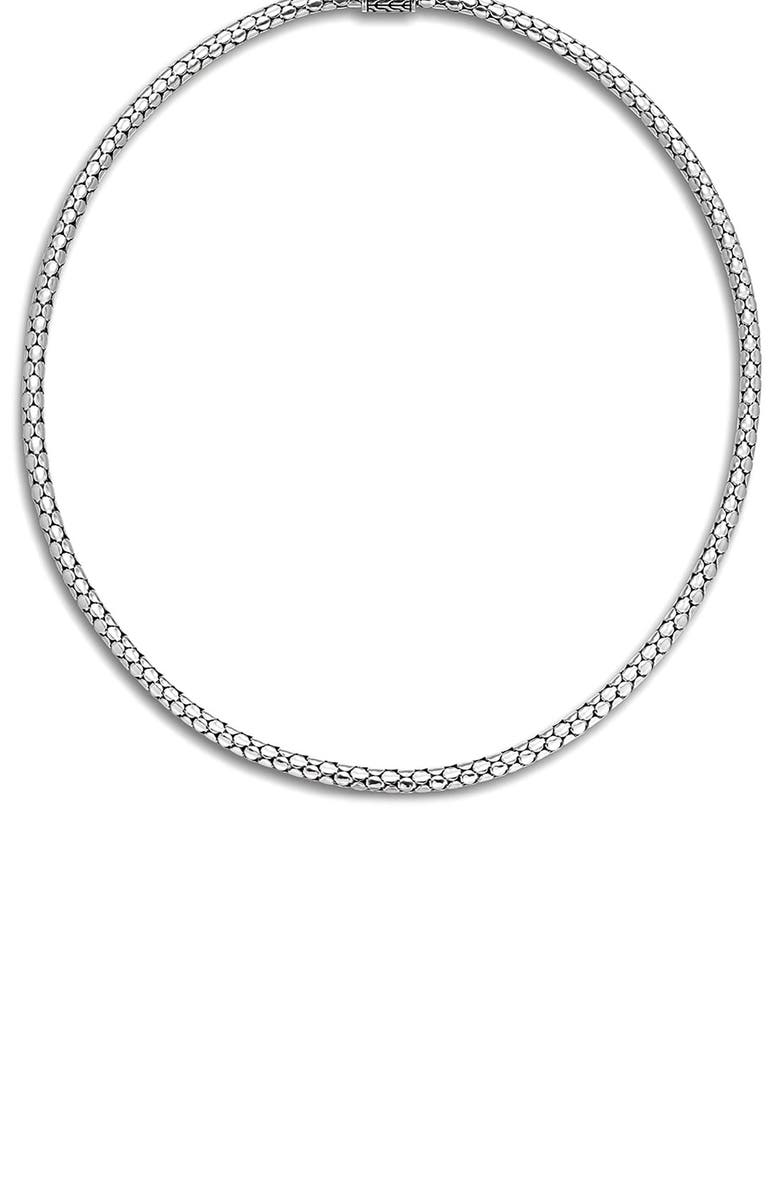JOHN HARDY Dot Chain Necklace, Main, color, SILVER
