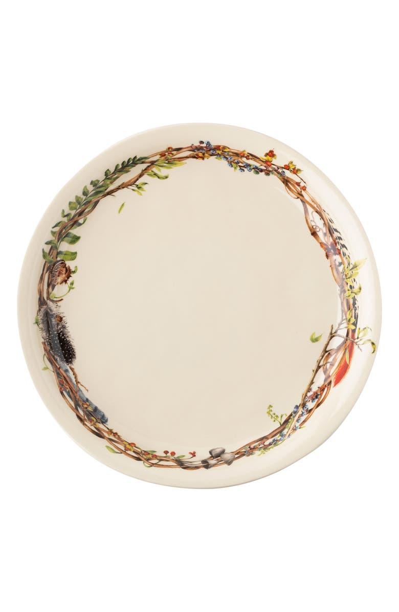JULISKA Forest Walk Round Platter, Main, color, CAF AU LAIT
