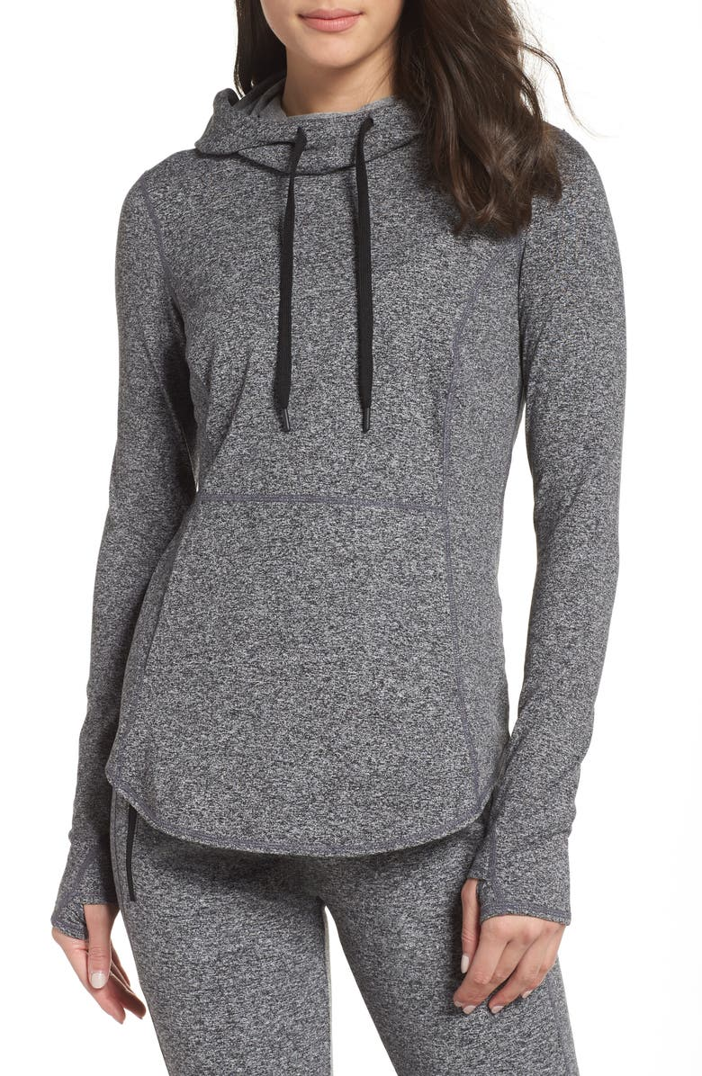 168ce170b32f0 Taryn Ultrasoft Recycled Pullover Hoodie, Main, color, 001
