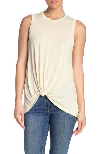 Image of ALL IN FAVOR Knotted Tunic Tank