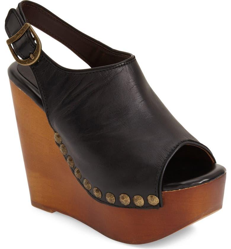JEFFREY CAMPBELL 'Snick' Platform Sandal, Main, color, 001