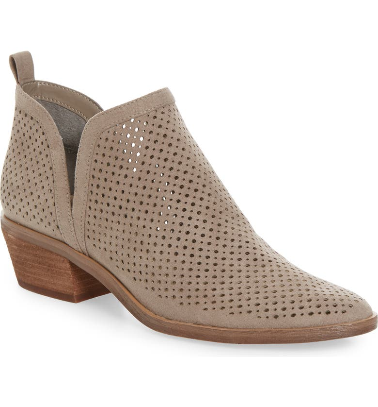 BP. Perry Bootie, Main, color, STONE FAUX SUEDE