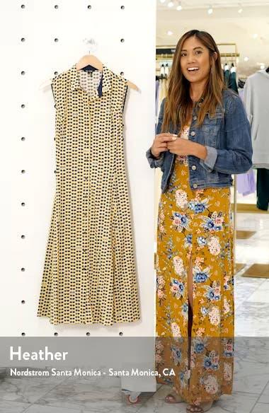 Sunnies Sleeveless Tie Waist Shirtdress, sales video thumbnail