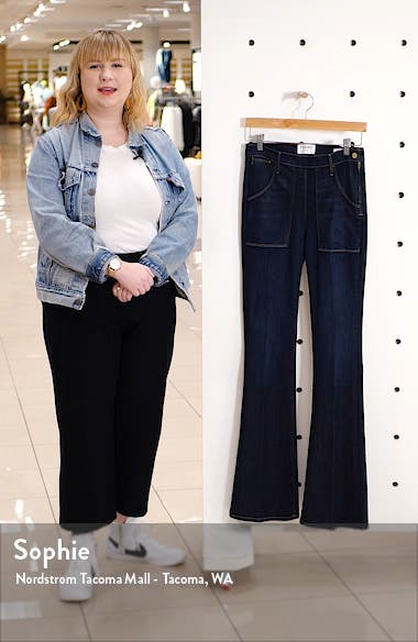 Le Flare de Françoise High Waist Flare Jeans, sales video thumbnail