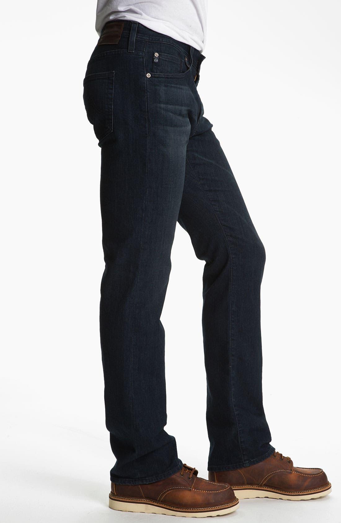 ,                             'Protégé' Straight Leg Jeans,                             Alternate thumbnail 21, color,                             409