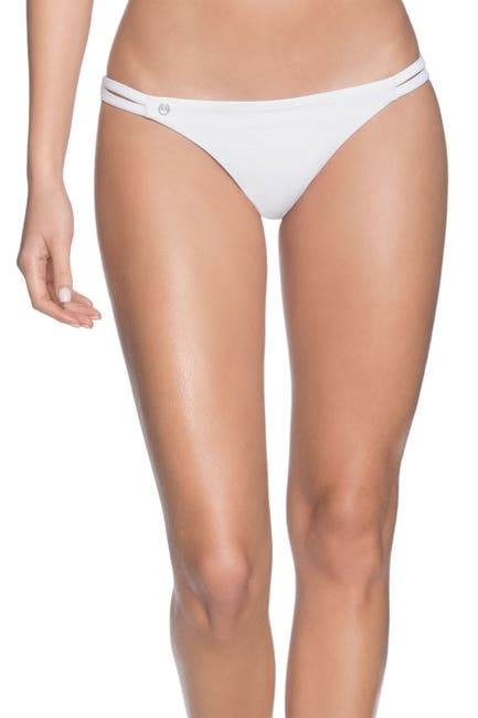 Image of Maaji Serenity Side Split Reversible Cheeky Bikini Bottoms