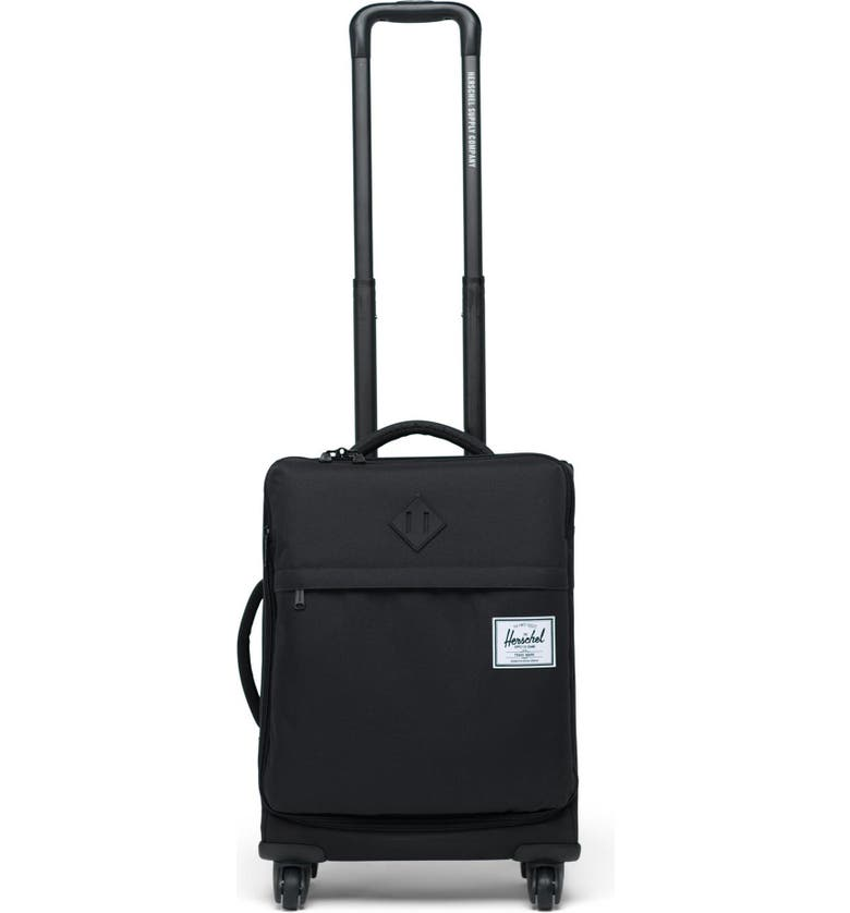 HERSCHEL SUPPLY CO. Highland 22-Inch Spinner Carry-On, Main, color, BLACK