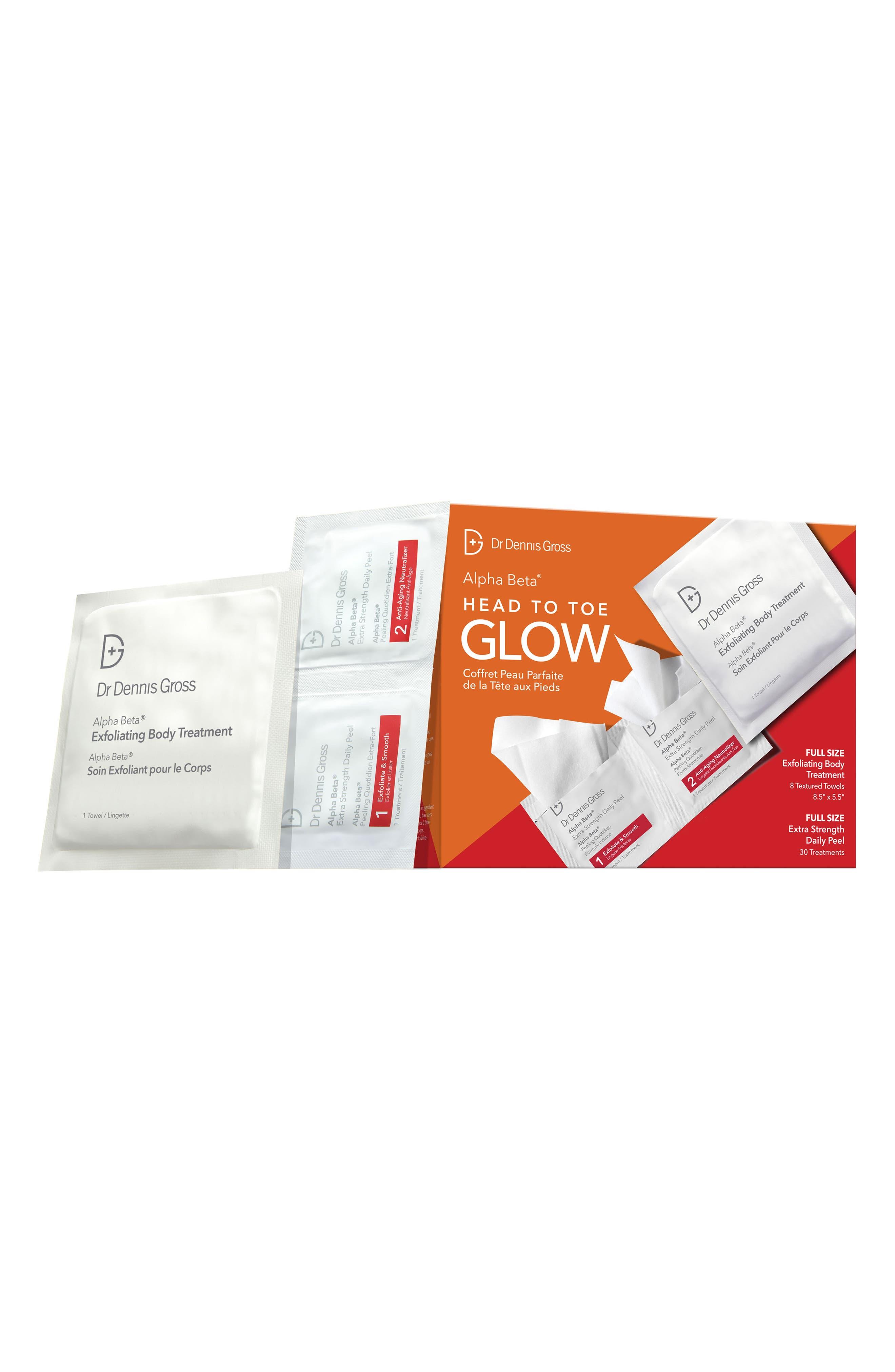 Skincare Alpha Beta Head To Glow Set