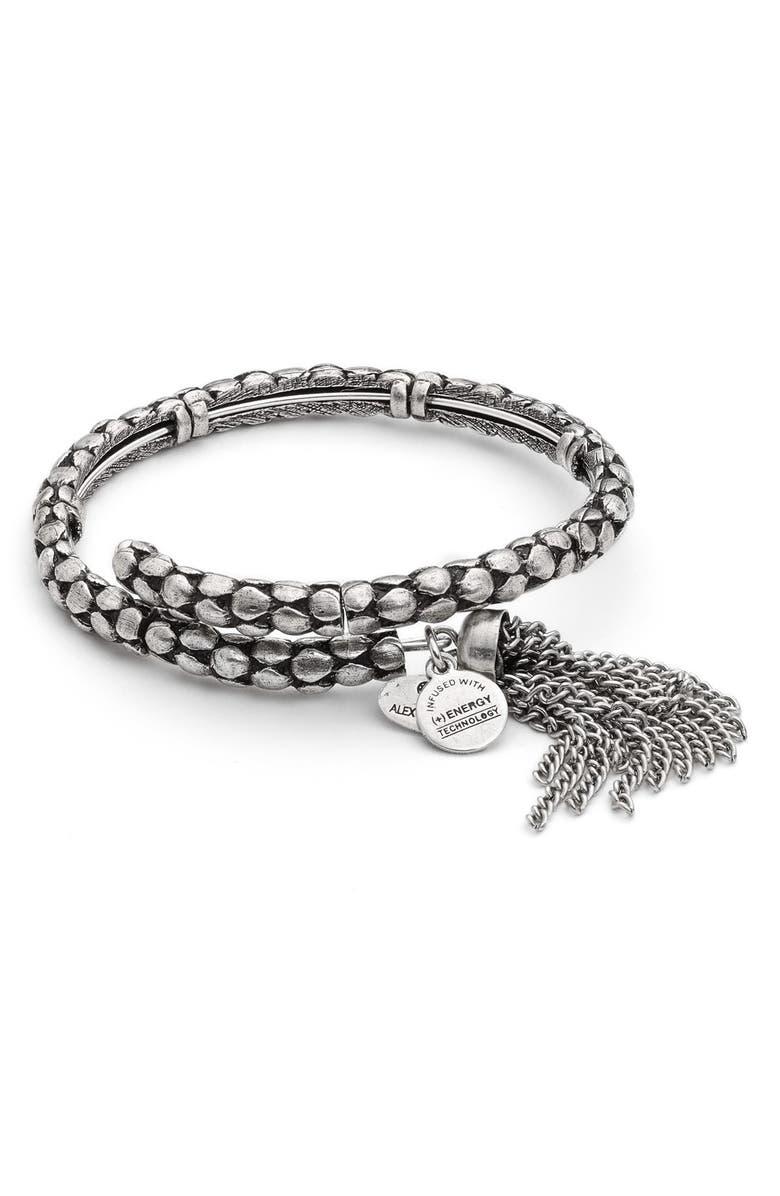 Alex And Ani Tassel Coil Bracelet Nordstrom Exclusive