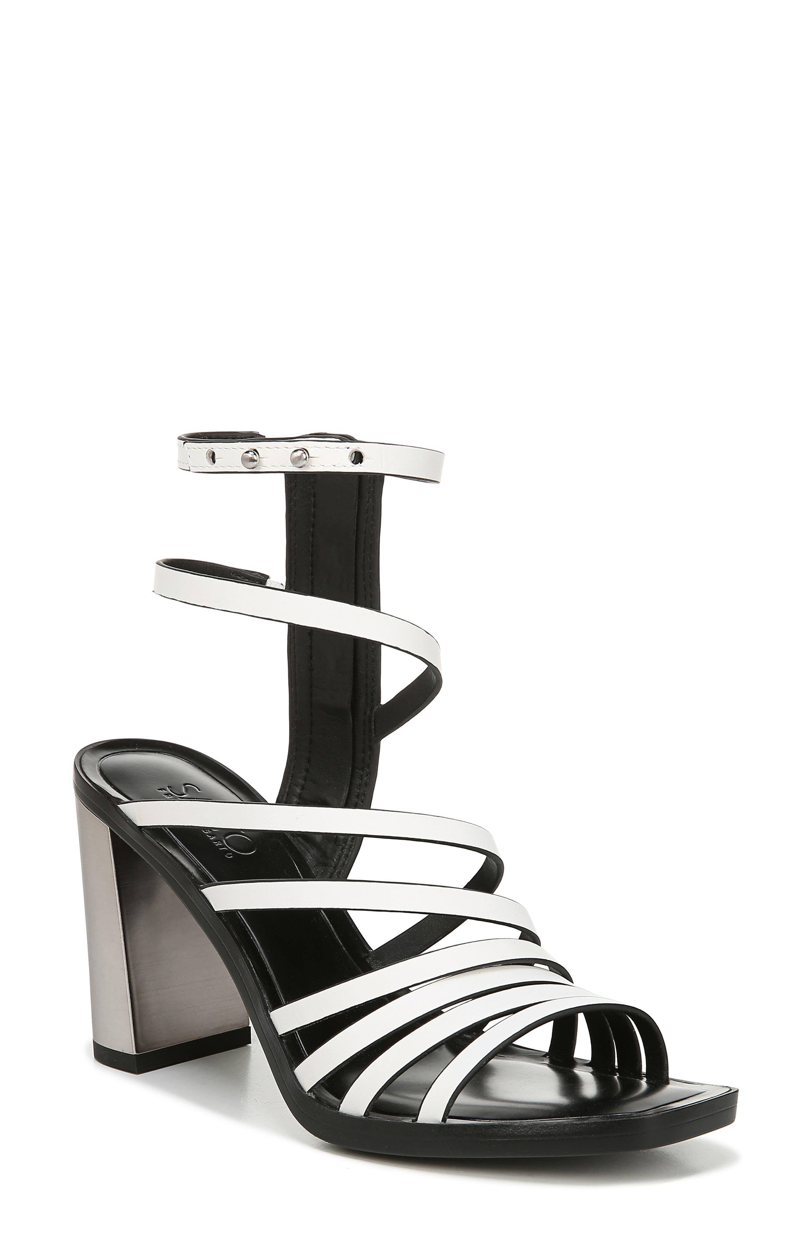Sarto By Franco Sarto Winnie Strappy Sandal- White