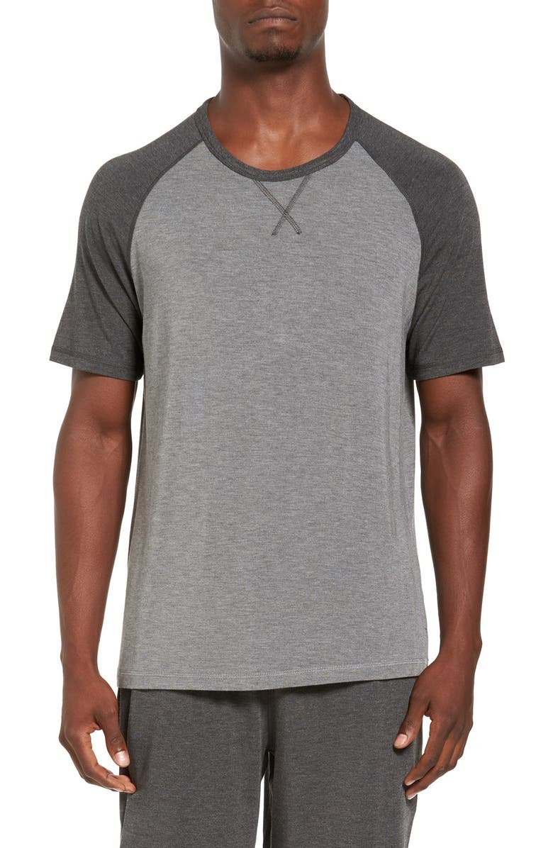 DANIEL BUCHLER Stretch Raglan Sleeve T-Shirt, Main, color, 020