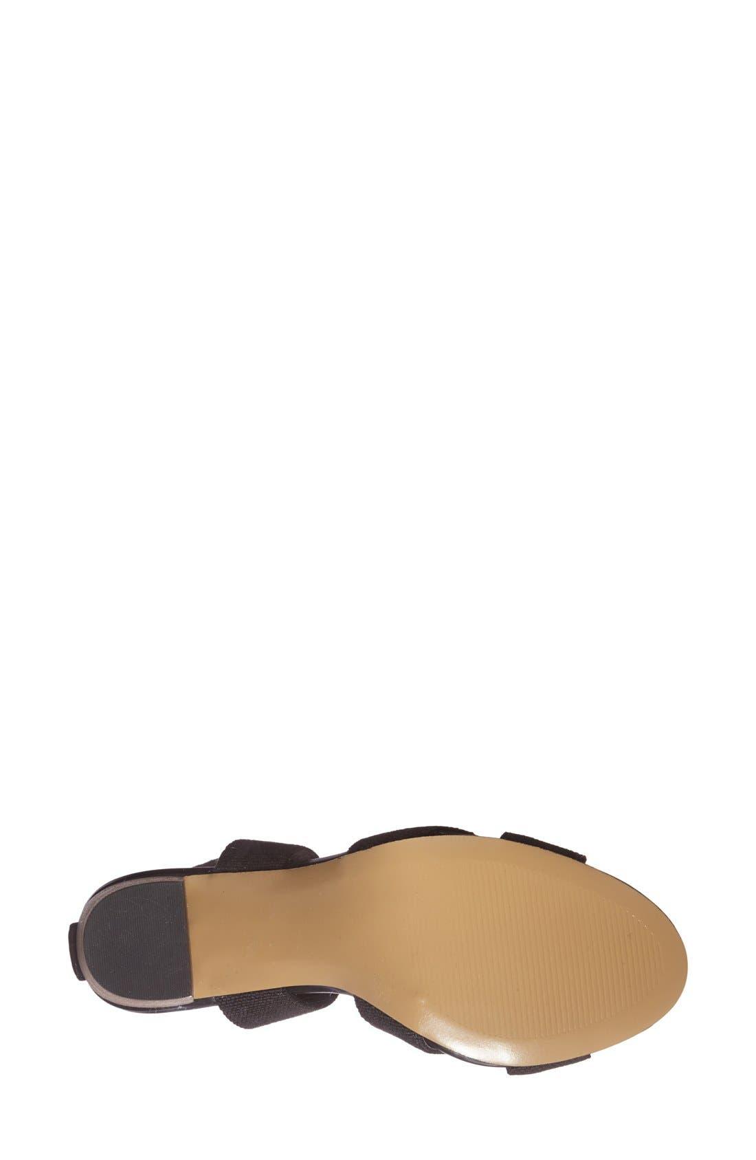 ,                             'Joesy' Block Heel Sandal,                             Alternate thumbnail 2, color,                             001