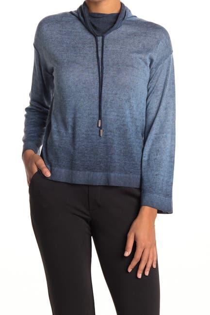 Image of Line Kara Mock Neck Pullover Sweater