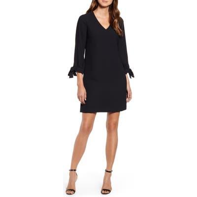 Cece Tie Sleeve A-Line Dress