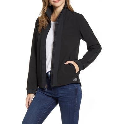 New Balance Q Speed Winterwatch Water Resistant Jacket, Black