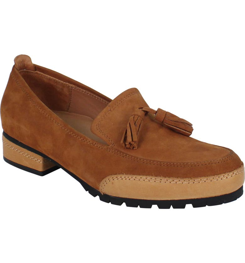 L'AMOUR DES PIEDS Finiey Loafer, Main, color, COFFEE NUBUCK