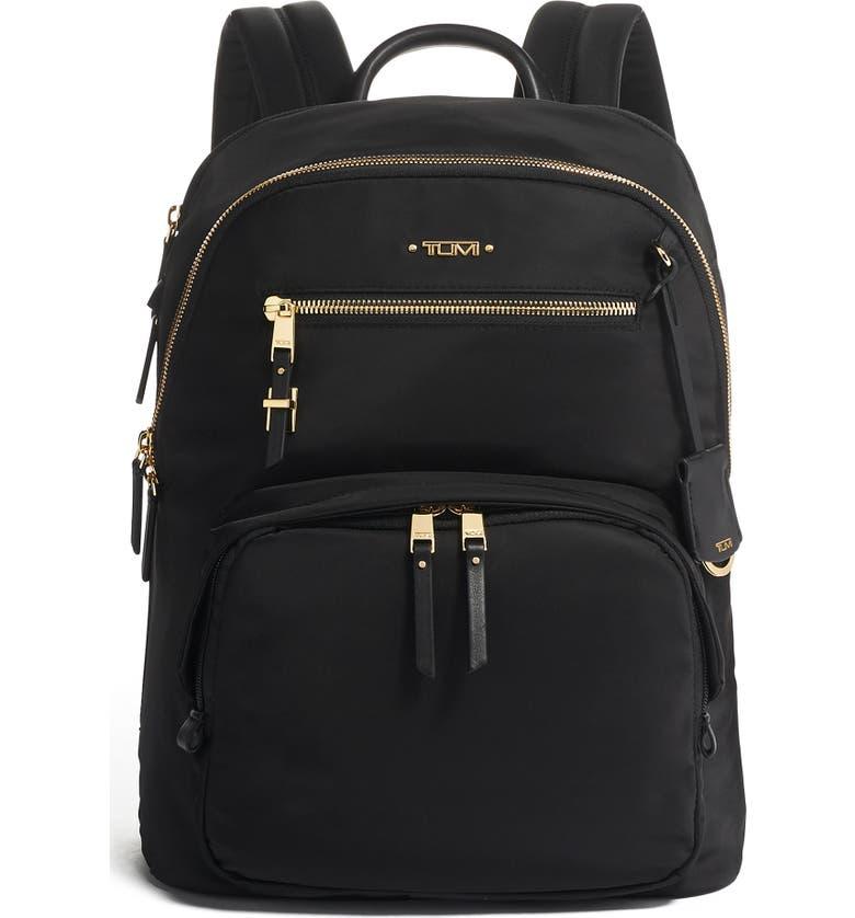 TUMI Voyageur Hilden Backpack, Main, color, BLACK