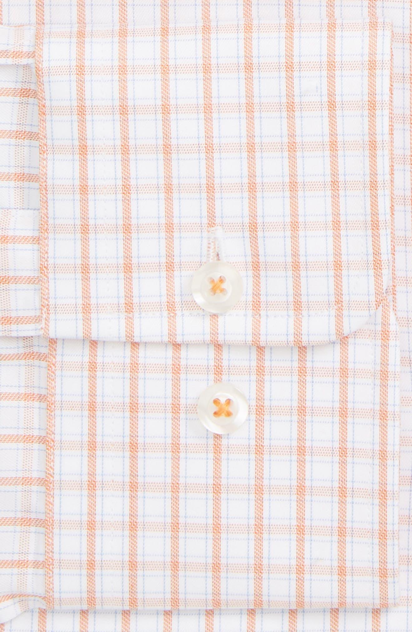 ,                             Regular Fit Plaid Dress Shirt,                             Alternate thumbnail 2, color,                             MELON