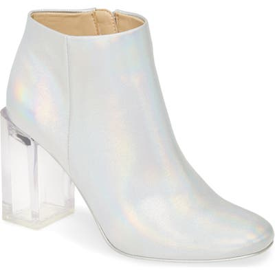 Katy Perry Sizzle Transparent Heel Bootie- None