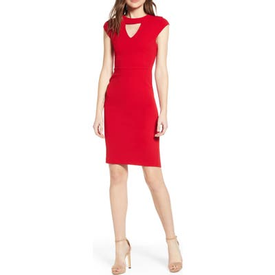 Sentimental Ny Victorious Keyhole Body-Con Dress