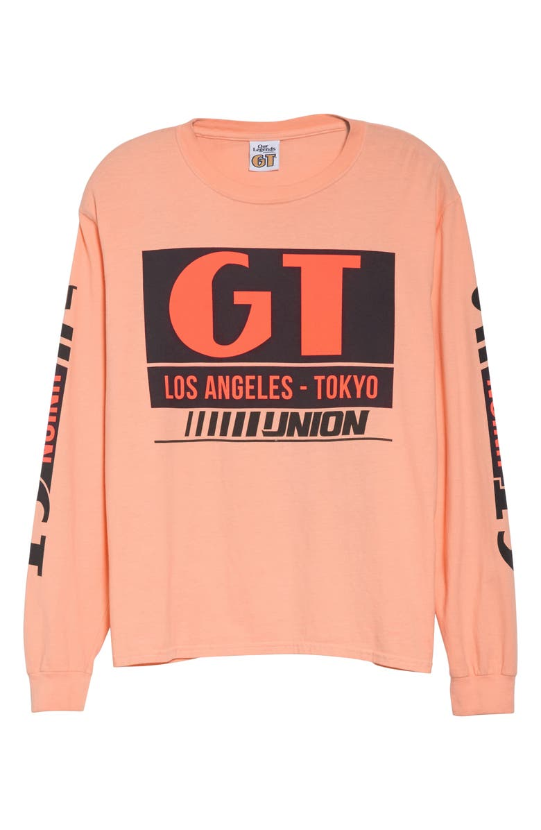 OUR LEGENDS Team Long Sleeve T-Shirt, Main, color, PASTEL PEACH