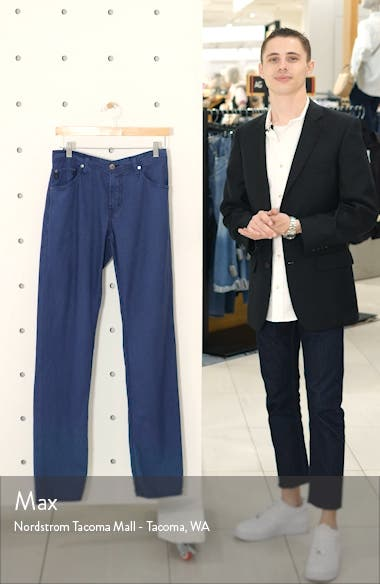 Graduate Slim Straight Leg Linen Blend Pants, sales video thumbnail
