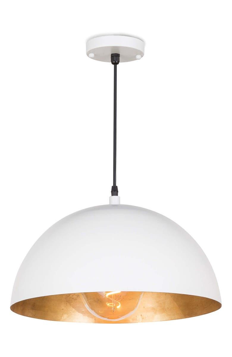 REGINA ANDREW DESIGN Sigmund Pendant Light, Main, color, WHITE