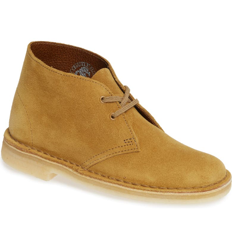 CLARKS<SUP>®</SUP> Desert Chukka Boot, Main, color, OAK SUEDE