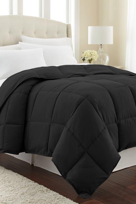 Image of SOUTHSHORE FINE LINENS King/California King Southshore Fine Linens Vilano Springs  Down Alternate Weight Comforter - Black