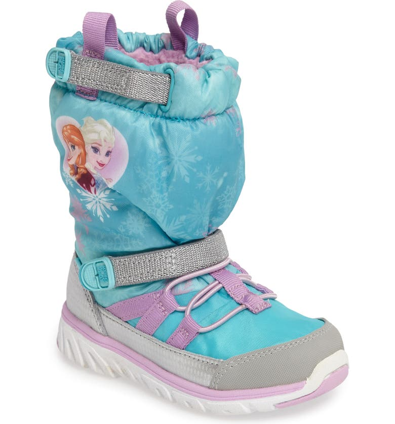 STRIDE RITE Disney<sup>®</sup> Frozen Made2Play Sneaker Boot, Main, color, 452
