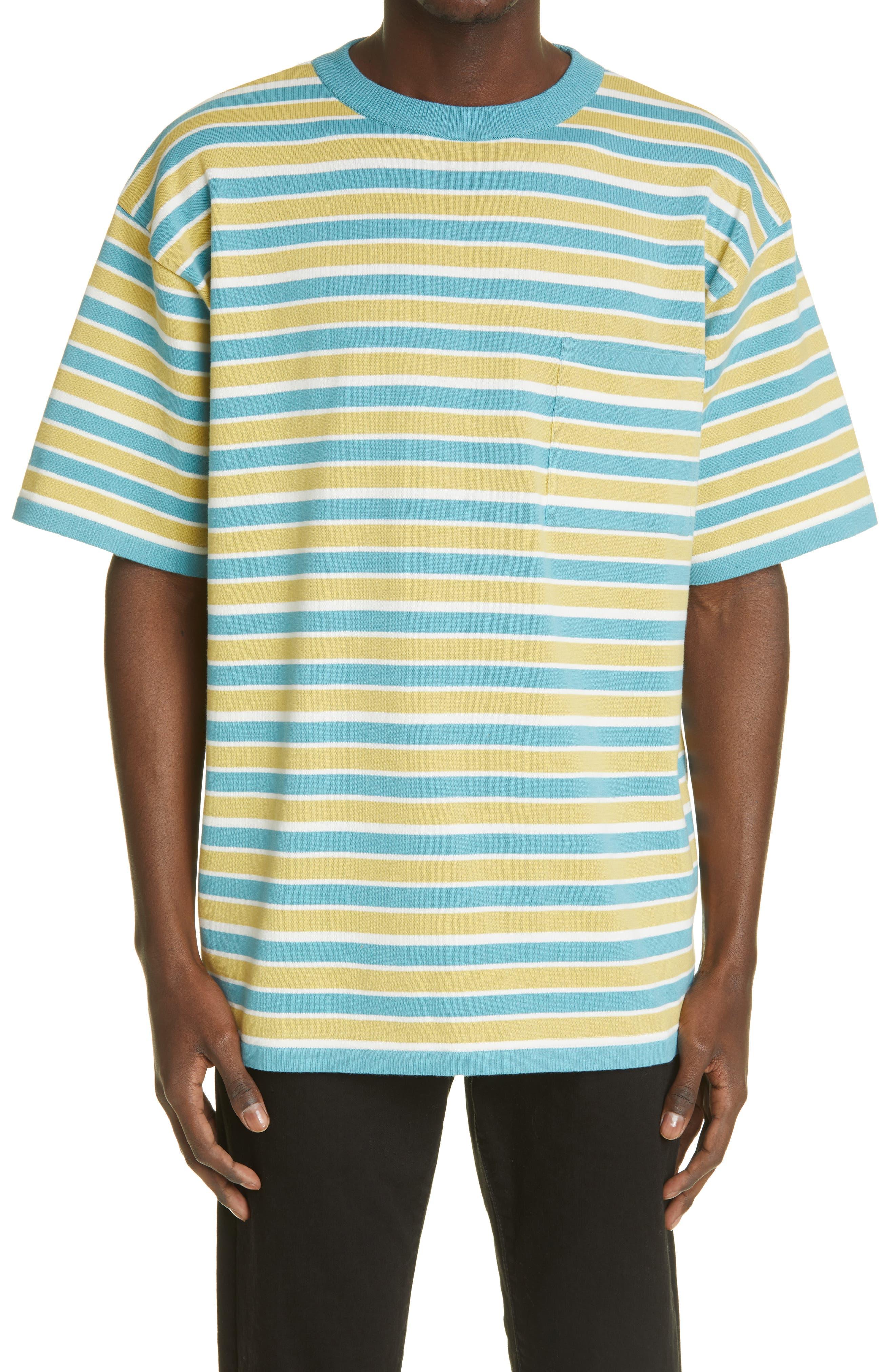 Stripe Cotton T-Shirt