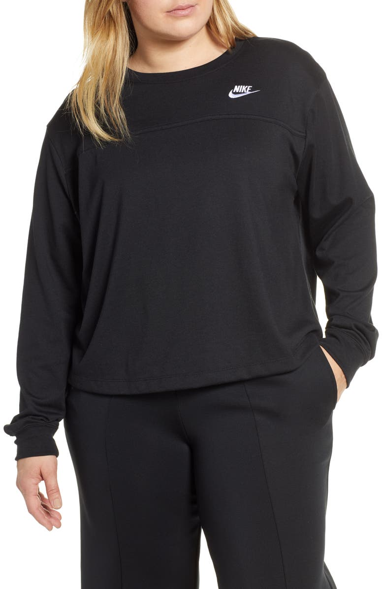 NIKE Sportswear Crewneck Sweatshirt, Main, color, 010
