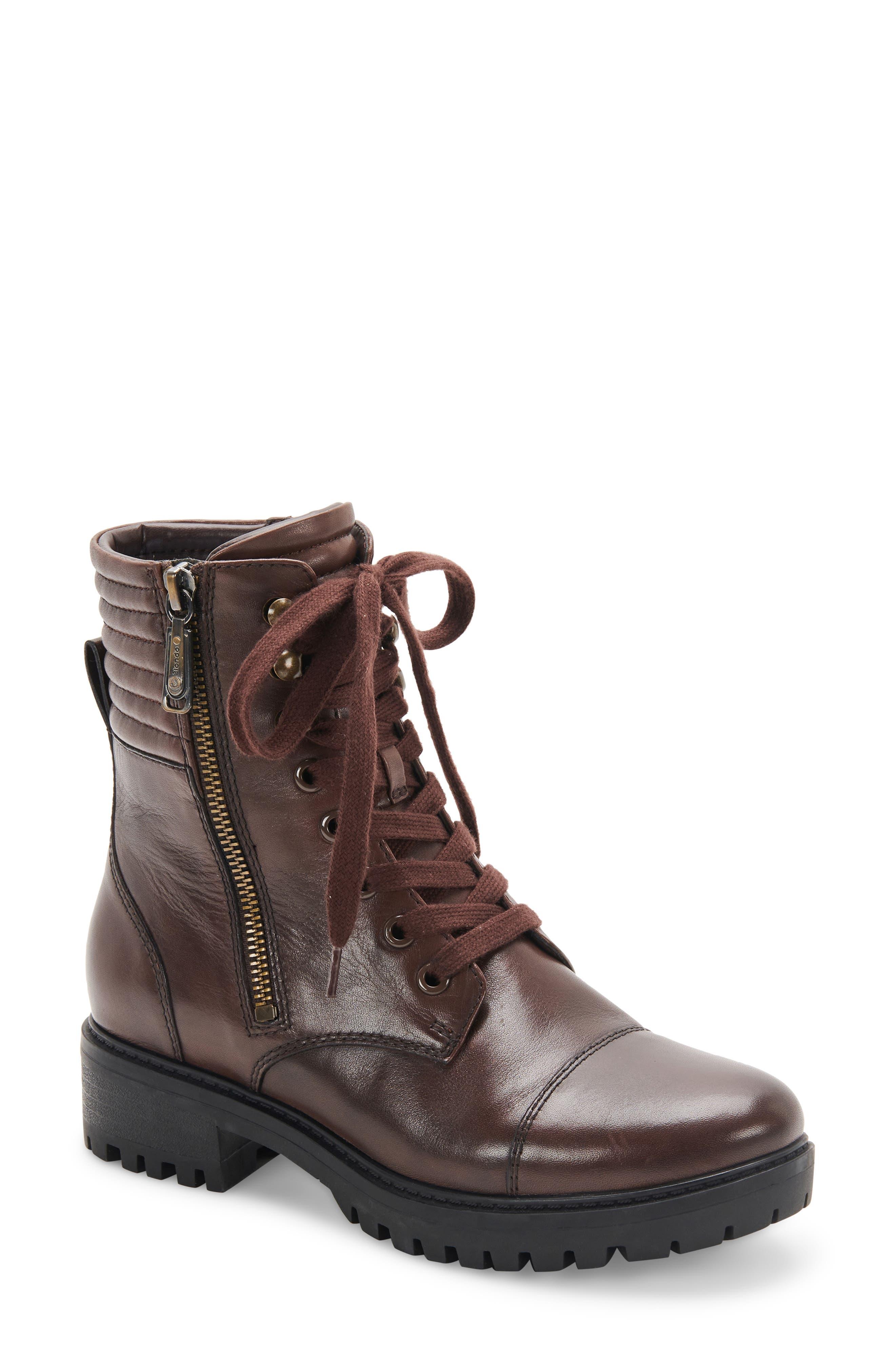 Mady Waterproof Lace-Up Boot