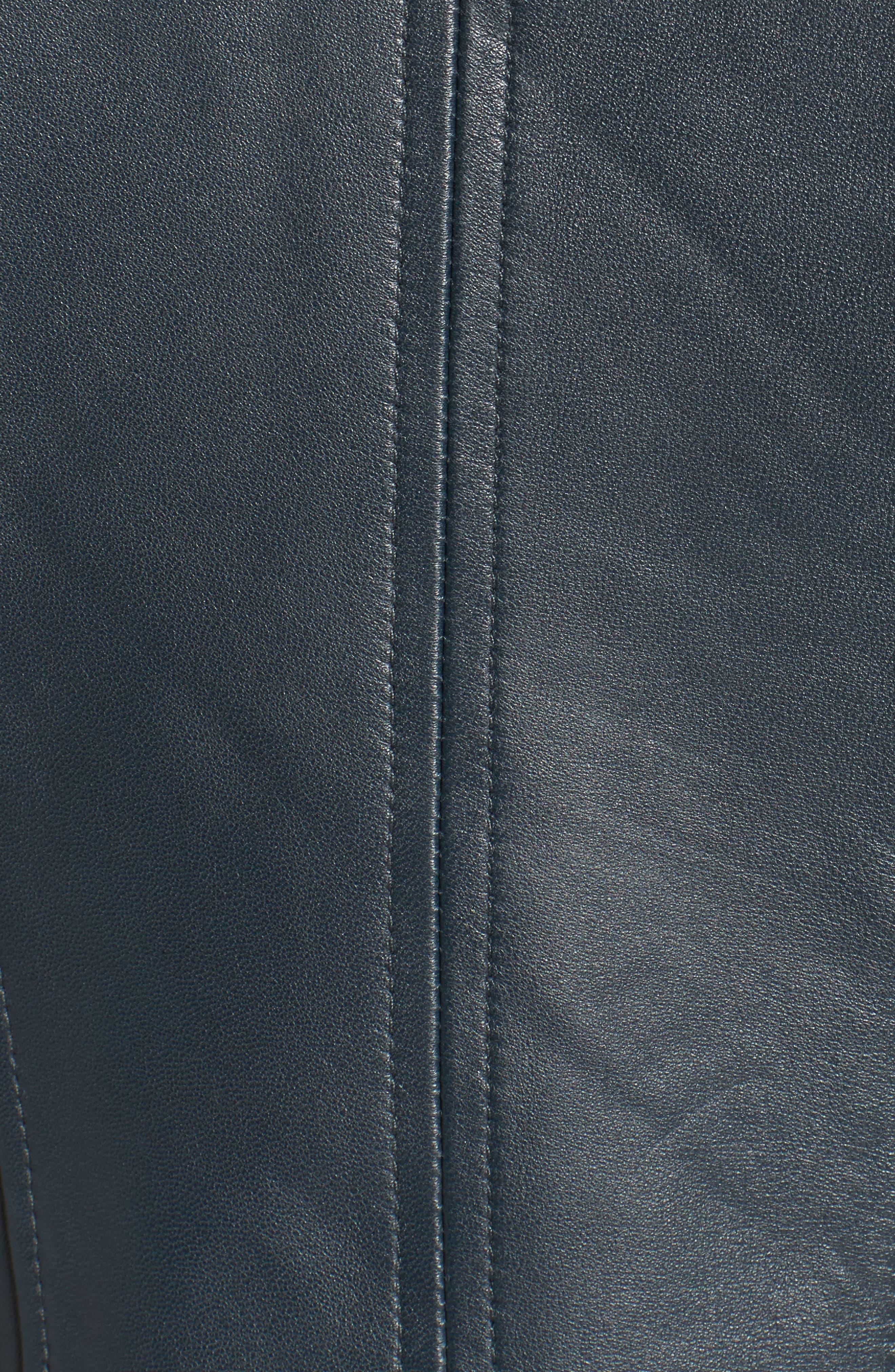 ,                             Zip Detail Moto Jacket,                             Alternate thumbnail 8, color,                             431