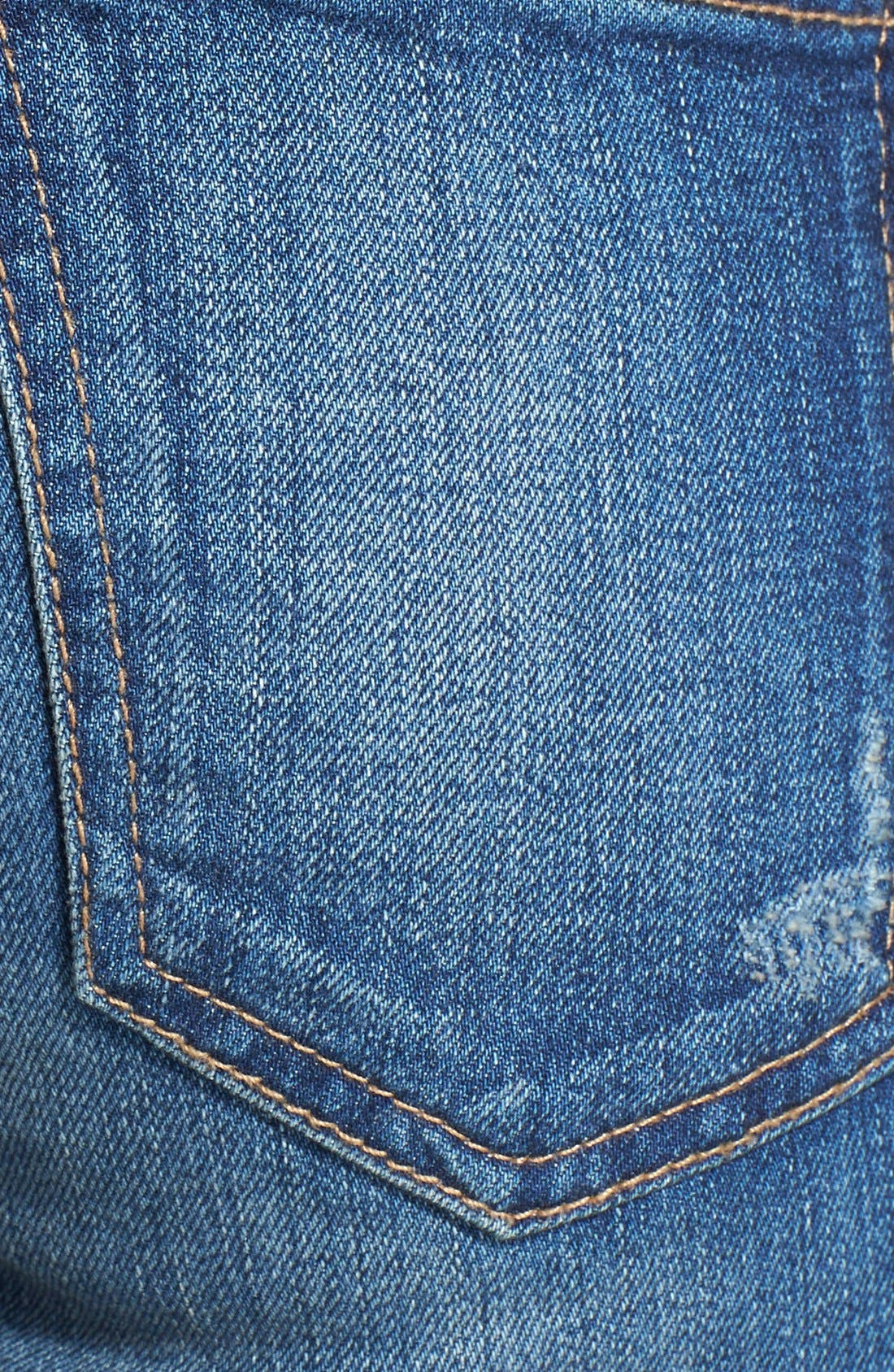 ,                             'The Stiletto' Destroyed Skinny Jeans,                             Alternate thumbnail 12, color,                             461