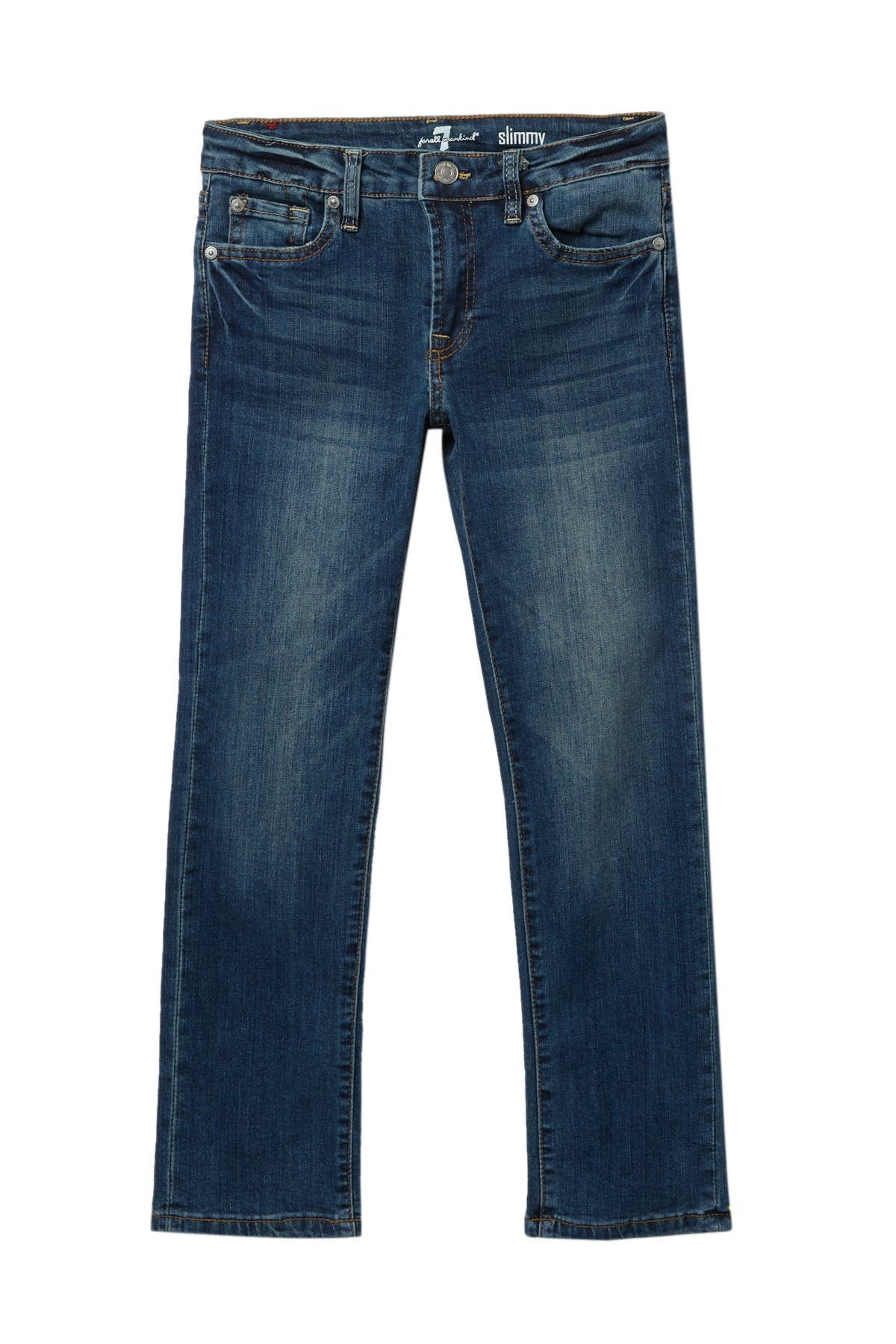 Image of 7 For All Mankind Slimmy 5 Pocket Jeans