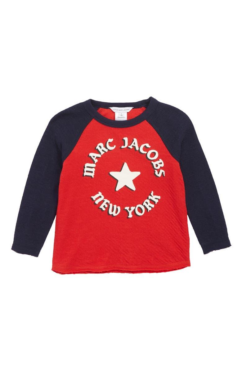 LITTLE MARC JACOBS Graphic Shirt, Main, color, 600