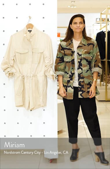 Boa Ruched Sleeve Romper, sales video thumbnail