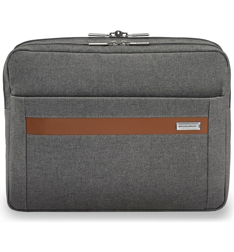 BRIGGS & RILEY Kinzie Street Micro Messenger Bag, Main, color, GREY