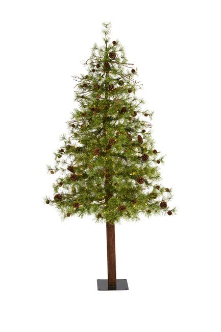 Image of NEARLY NATURAL 6ft. Wyoming Alpine Artificial Christmas Tree