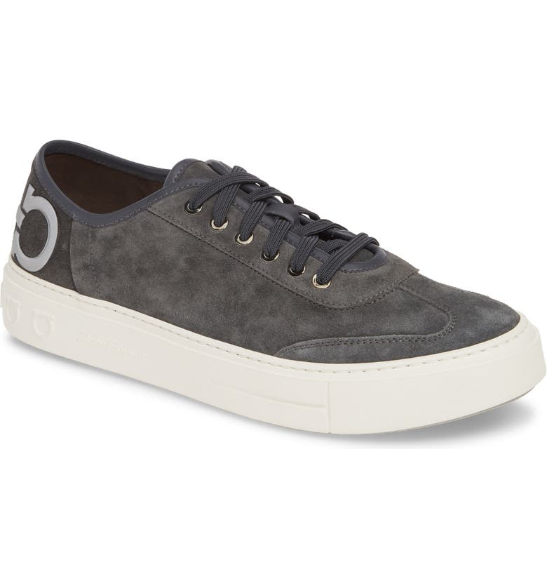 SALVATORE FERRAGAMO Truman Sneaker, Main, color, ASFALTO GREY