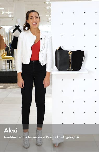 Gaia Leather Shoulder Bag, sales video thumbnail