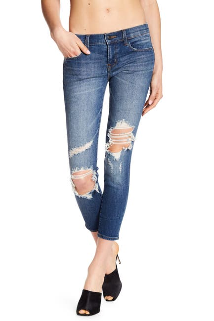 Image of J Brand 9326 Low Rise Crop Skinny Jeans