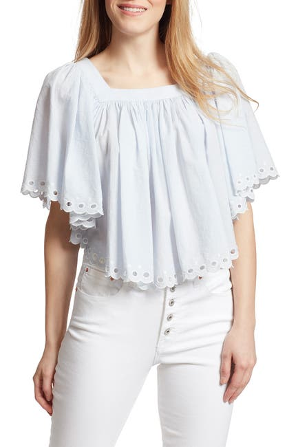Image of Ella Moss Lynne Eyelet Top