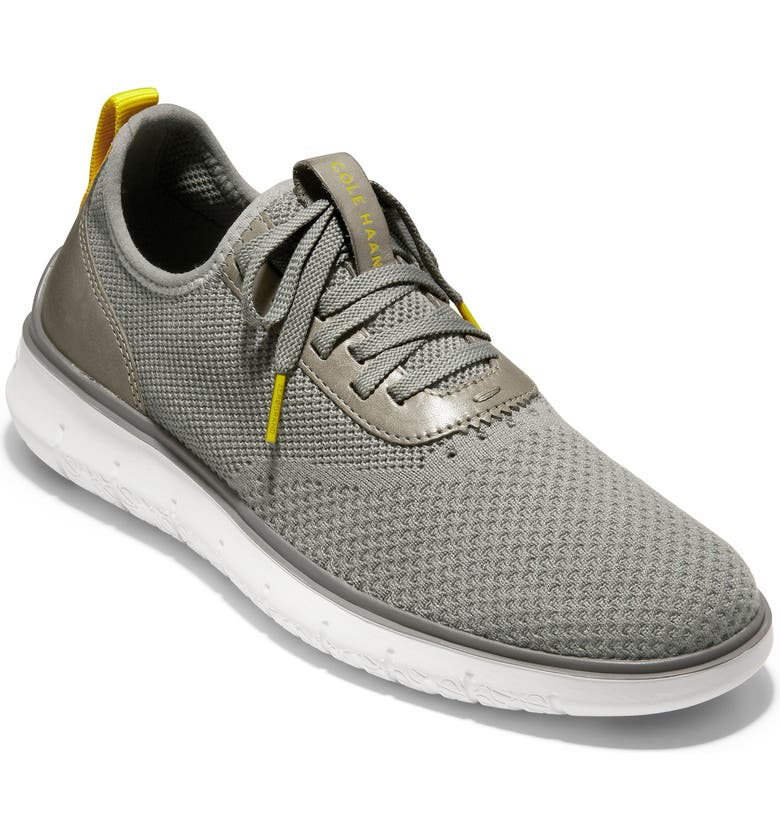 COLE HAAN Generation ZeroGrand Stitchlite Sneaker, Main, color, IRONSTONE KNIT