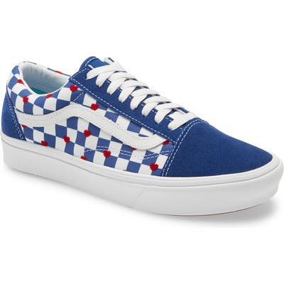 Vans Autism Awareness Comfycush Old Skool Sneaker, Blue